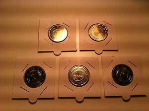 SERIE 5 ATELIERS X 2 EURO ALLEMAGNE 2009 EMU A D F G J COMMEMORATIVE