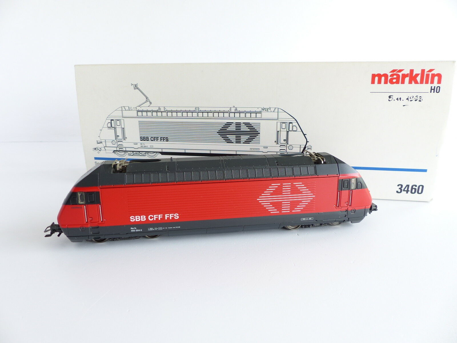 MARKLIN 3460 LOCOMOTIVE ELECTRIQUE SERIE 460 Re 4/4 SBB CFF FFS