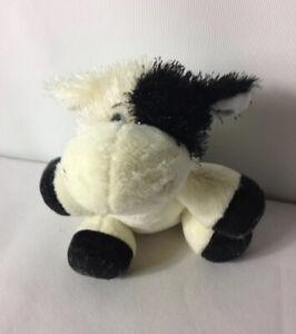 Ganz-Webkinz-Lil-039-Kinz-Leone-Mucca-amp-Rabbit-Beanie-Belly-giocattolo-morbido-peluche-in
