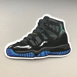 sports shoes d198b 79f75 Image is loading Nike-Air-Jordan-11-XI-034-Gamma-Blue-