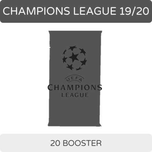 Topps match coronó Champions League 2019 2020 19//20 Booster Display