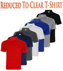 Mens-T-Shirts-PK-Polo-Shirt-Pique-Poly-Cotton-Summer-Tops-Multi-color-S-6XL