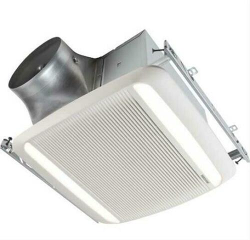 Broan RB80L1 Ultra Pro 80 CFM .3 Sone Ceiling Mounted LED HVI White