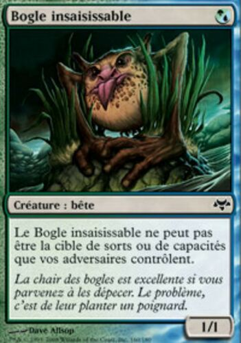 Slippery Bogle MTG Magic EVE *MRM* FRENCH 4x Bogle Insaisissable