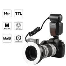 K&F Concept KF-150 Macro Ring Flash Light Speedlite i-TTL TTL for Nikon DSLR