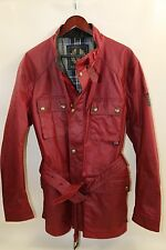 Belstaff Roadmaster Waxed Cotton Hooded Field Jacket Size 56-46