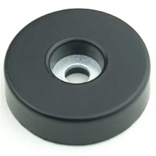 8 Gummifüße Ø 38 x 10 mm Stahleinlage Adam Hall 4906 Gerätefuß Möbelfüße Gummi