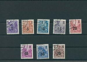 Germany-GDR-vintage-yearset-1954-Mi-435-442-Postmarked-Used-More-Sh-Shop