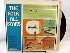 Zenith FOLK ALL STARS LP Record CSP324 Pete Seeger Clancy Bros Christy Minstrels