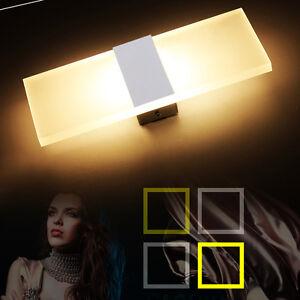 6W-LED-Wandlampe-Warmweiss-Wandleuchte-Effektlampe-Wohnzimmer-Flurlampe-Strahler