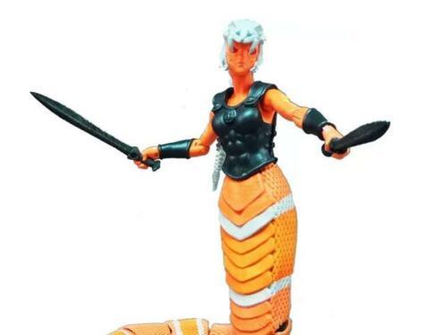 Boss lutte Studio Vitruvian h.a.c.k.s colubrida Garde Gorgon Action Figure