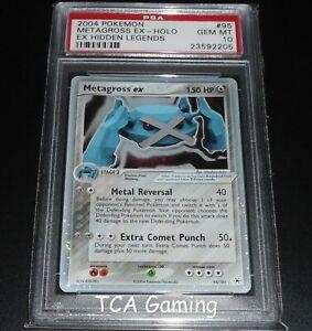 PSA-10-GEM-MINT-Metagross-Ex-95-101-Ex-Hidden-Legends-HOLO-RARE-Pokemon-Card