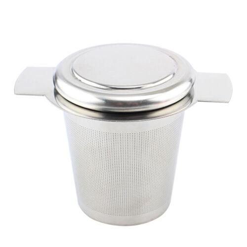 304 Stainless Steel Fine Mesh Filter Tea Coffee Infuser Reusable Strainer