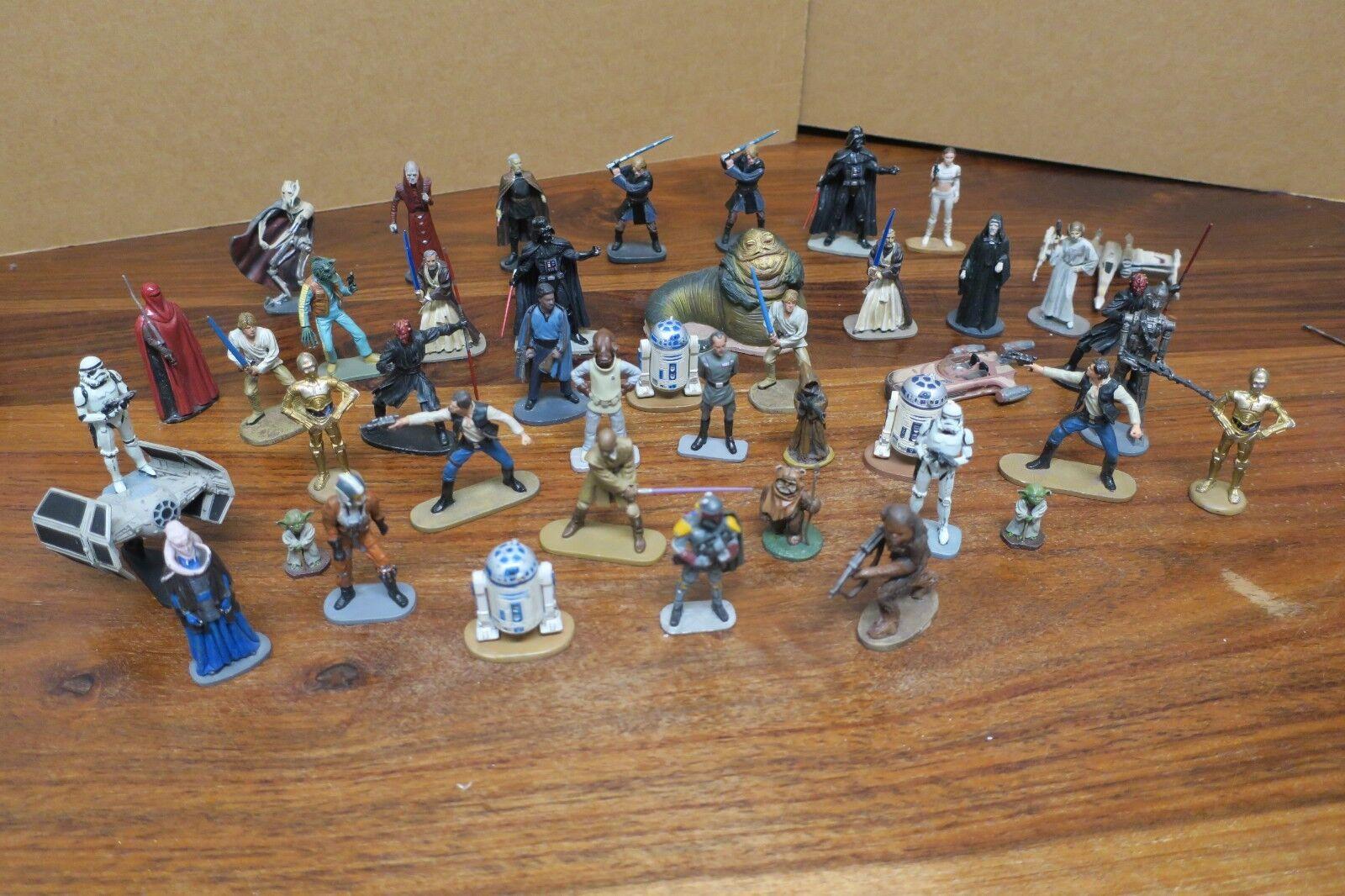 Bundle of 44 figurines lead STAR WARS - EDITION ATLAS