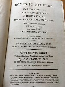 1813-William-Buchan-Domestic-Medicine-A-Treatise-Prevention-Cure-Diseases-Book