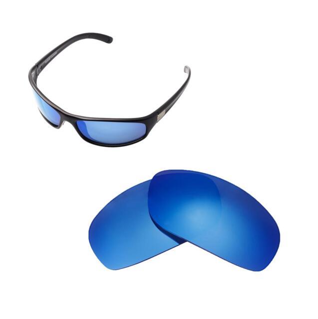 226474f14b Walleva Polarized Ice Blue Replacement Lenses for Bolle Anaconda
