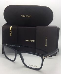 c77b94ceb9 Brand New TOM FORD Eyeglasses TF 5407 001 54-16 Shiny Black ...
