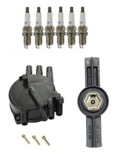 For Mazda 626 1995-1997 Ignition KIT Distributor Rotor /& Cap /& Plugs Best Value