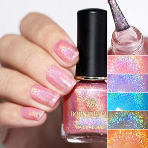 BORN-PRETTY-6ml-Holographic-Nail-Polish-Glitter-Nail-Art-Varnish-Design