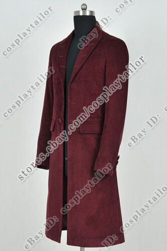 Who Buy Doctor The 4th Fourth Dr Tom Baker Cosplay Costume Trench Coat Jacket