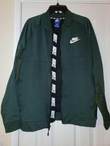 Nike Windrunner Track Jacket Green L