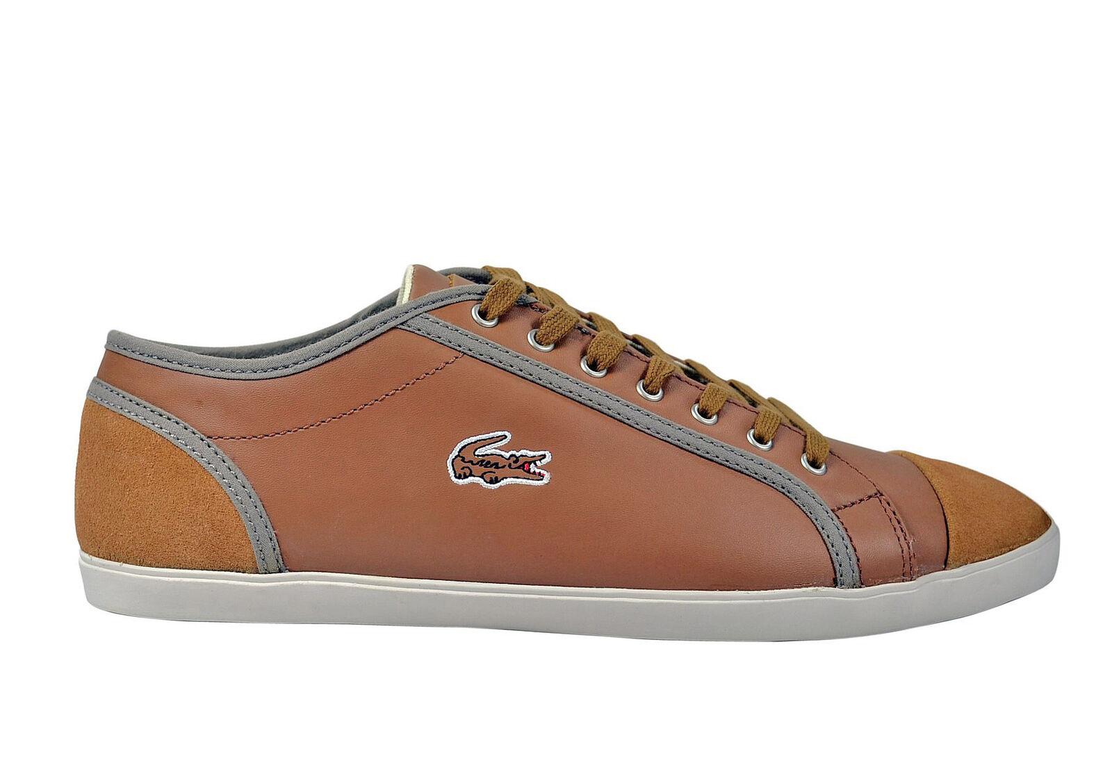 Lacoste Lacoste Lacoste Berber 8 SRM tan LTH beige/braun Zapatos/Sneaker 50e04f