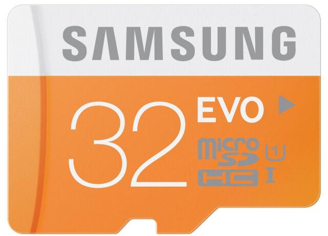 Samsung EVO 32GB microSDHC micro SD SDHC UHS microSD for Galaxy S5 Class 10 Card