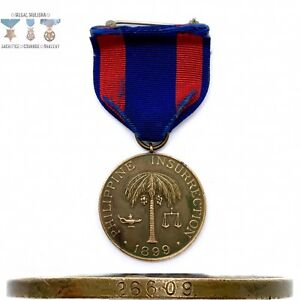 26609-ARMY-1899-PHILIPPINE-CAMPAIGN-MEDAL-NUMBERED-BB-amp-B-10-21-1931-CONTRACT