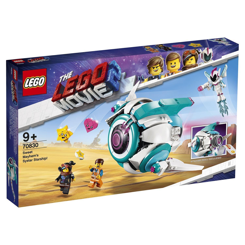 lego 70830 Lego Movie 2 Sweet Mayhem's Systar Starship!