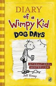 Diary-of-a-Wimpy-Kid-Dog-Days-Book-4-Kinney-Jeff-Very-Good-Book