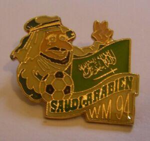 WORLD-CUP-94-USA-SOCCER-SAUDI-ARABIA-Limited-Edition-500-vintage-pin-badge-Z8J