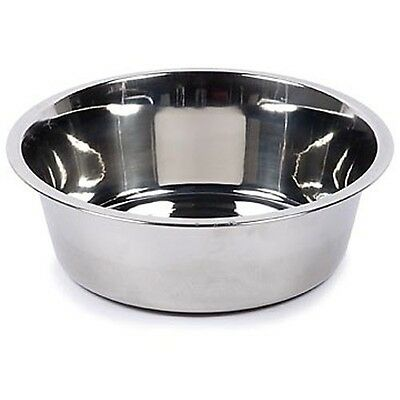 Animal Instincts Stainless Steel Pet Dog Cat Water Food Feeding Bowl Dish