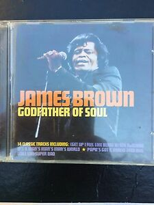 James-Brown-Godfather-Of-Soul-Used-14-Track-Greatest-Hits-Cd-Best-Of-Funk-R-amp-B