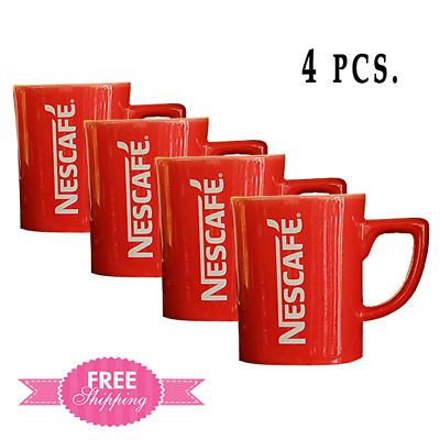 Nescafe Red Mugs Coffee Cup Seramic Tea Collection 4 set ...