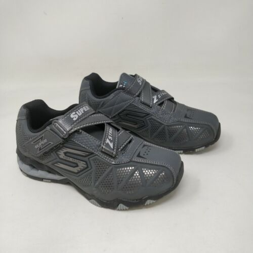 Boy/'s Youth Skechers HYDRO-STATIC STELLAR BLAST Charcoal 97432 A28 New