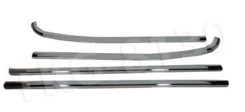 4 Puerta Cromo Alféizar de la ventana Cinturón línea de moldeo Apto Para Ford Ranger T6 2012-2019