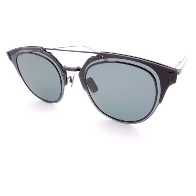 05e01248f7c Christian Dior Composit 1.0 0062K Black Grey New Sunglass Authentic 006 2K
