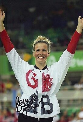 "Other The Cheapest Price Rebecca ""becky"" James Genuine Hand Signed 12x8 Photo Olympics Rio 2016 b"