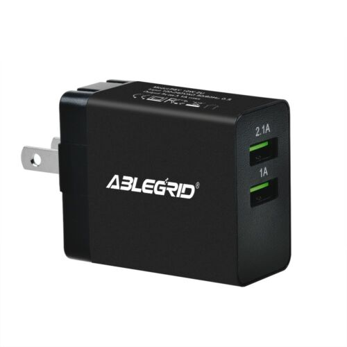 5V 1A//2.1A Dual USB Port Power Charger for Lenovo Yoga Tablet 10 Power Supply