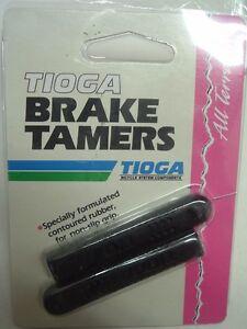 Tioga Brake Tamers Black Brake Lever Grips NEW!