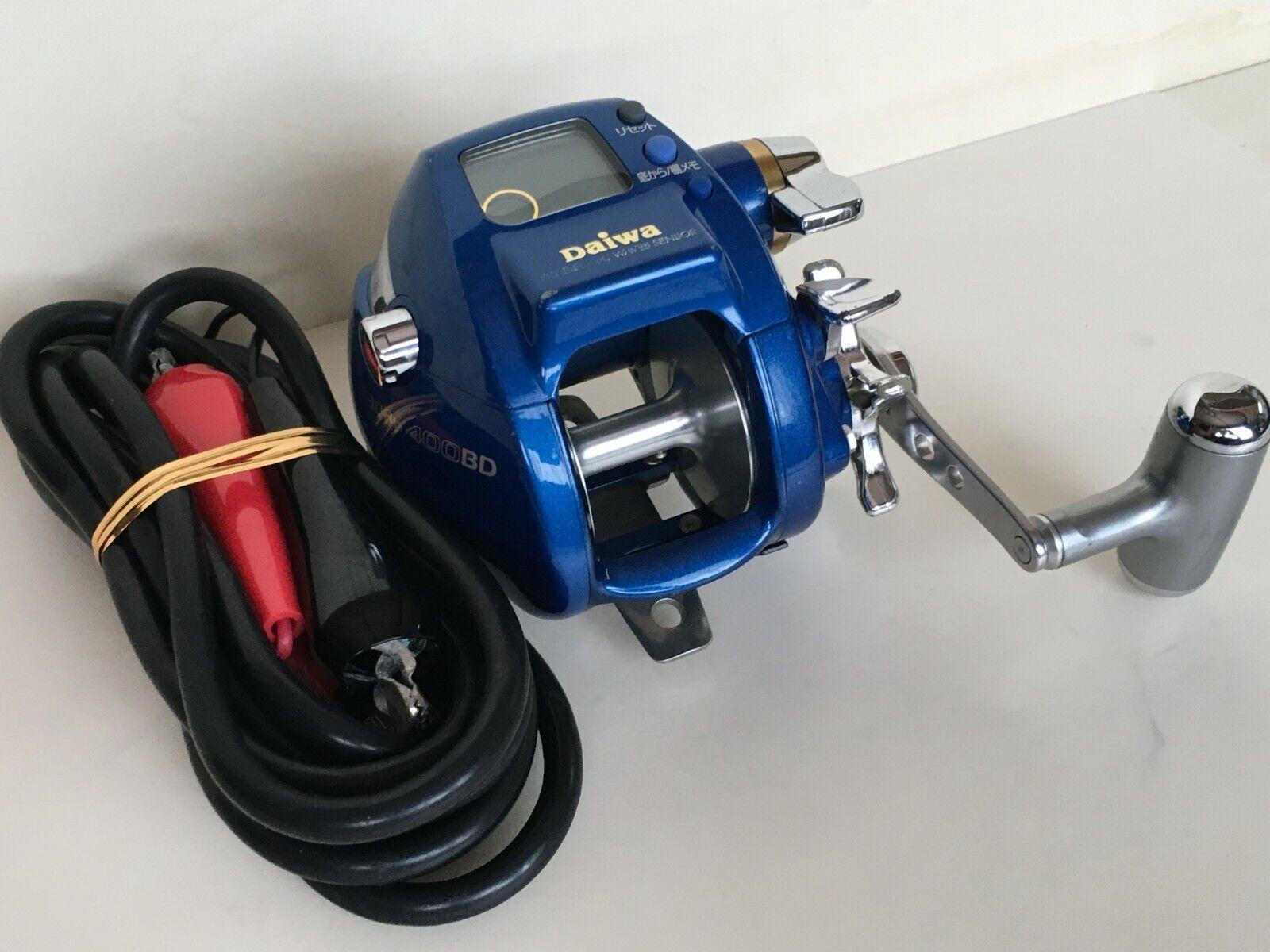 Daiwa Seaborg 400BD Gran Juego De Agua Salada Cocherete Electrico Mar Profundo Muy Buena