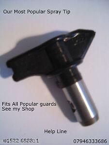 Uni Airless Peinture Pistolet Tip Tailles 207 à 423-afficher Le Titre D'origine Fabrication Habile