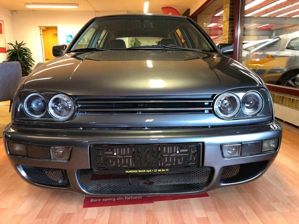 VW Golf III 2,8 VR6 Benzin modelår 1992 km 1000 Koksmetal ABS