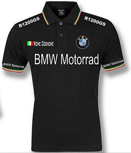 polo uomo bmw motorrad tricolore italia mens t shirt felpa. Black Bedroom Furniture Sets. Home Design Ideas