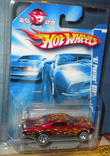 """heta hjul 2009 """"67 Pontiac GTO KOLLECTOR EDITERING NY"""