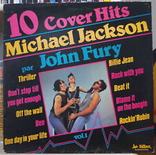 JOHN FURY 10 COVER HITS MICHAEL JACKSON  VOL 1 RARE FRENCH LP LES TRETEAUX