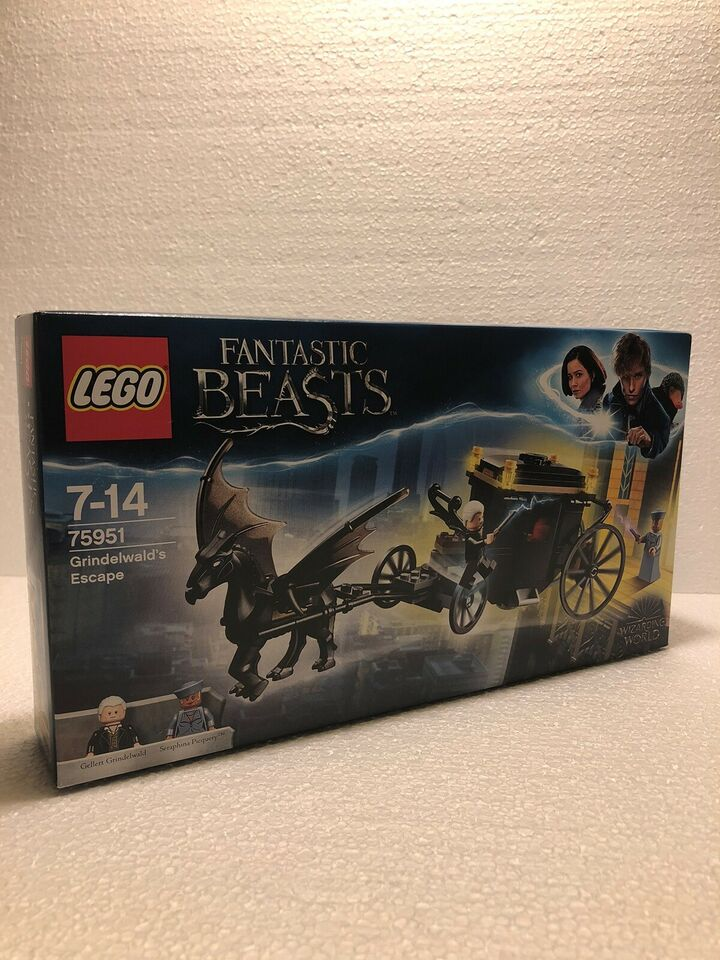 Lego Harry Potter, 75951 Grindelwald's Escape