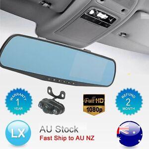 Full-HD-Car-Rear-View-Kit-4-3-034-LCD-Mirror-Monitor-Night-Vision-Reversing-Camera