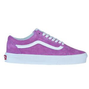 the best attitude competitive price meet Details zu Vans Old Skool Damen Wildleder Classic Core Sneaker Schuhe  violet/weiß 2019 NEU
