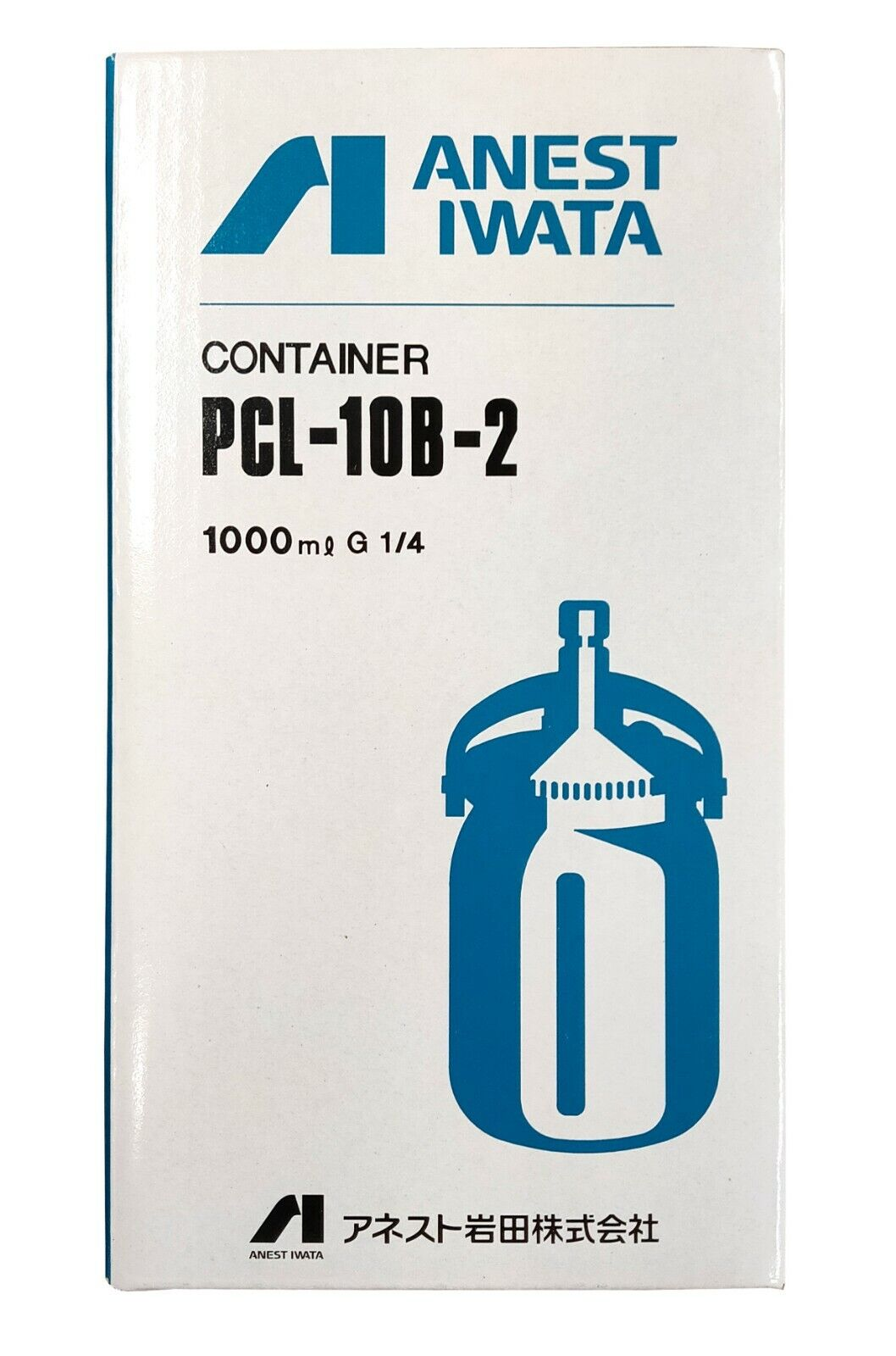 ANEST IWATA PAINT CUP 1000ml TYPE FOR MODEL W-101,71,61 PCL-10B-2